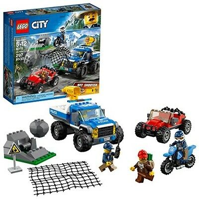 LEGO City Minifigures Truck Car Building Toy 297 Pc Set Box Sealed Boys Gift New