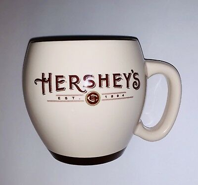 Hersheys Hot Chocolate Coffee Cup Mug Vintage Ceramic - Yum