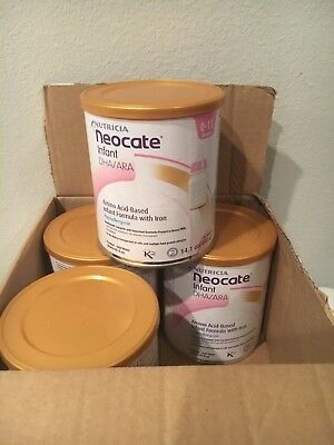 1 case / 4 Cans Neocate Infant DHA/ARA Hypoallergenic Formula