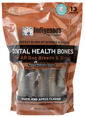 Indigenous Dental Health Bones - Duck and Apple Flavor