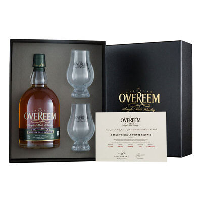 Overeem Bourbon Matured 'Rare Release' Single Malt Whisky Cask Strength 60% ABV