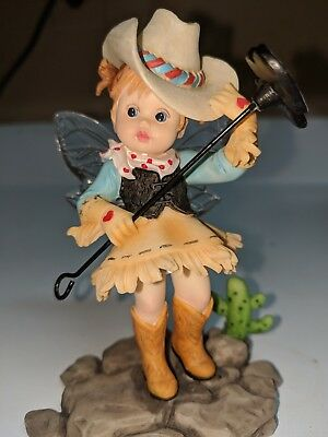"""My Little Kitchen Fairies """"Cowgirl Mother's Day Fairie"""" 4017378"""