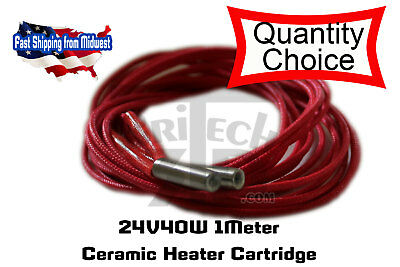 Ceramic Cartridge Heater 24V 40W For Prusa 3D Reprap Printer Hotend, 3D Printer