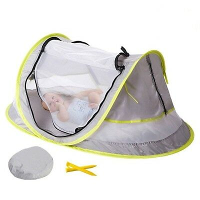 Portable Baby Crib Travel Bed Beach Tent with UV Protection-HOT