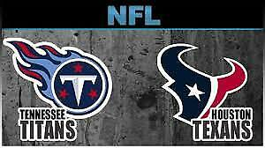 *** HOUSTON TEXANS vs. TENNESSEE TITANS  Tickets & Parking ***