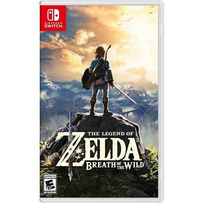 Legend of Zelda: Breath of the Wild Switch Brand New Factory Sealed Free Shippin