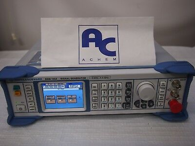 [Good Condition/30 Days Warranty] R&S SMB100A RF and Microwave Signal Generator