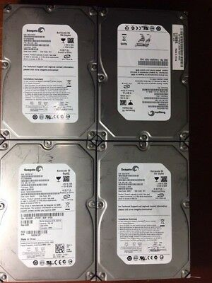 "Lot of 4 SEAGATE 750GB DESKTOP INTERNAL SATA HARD DRIVE HDD 3.5"" TESTED 100%"