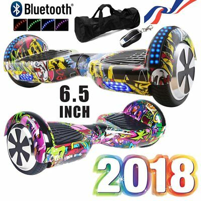 Hoverboard  6.5 Pouces E-Balance Scooter Skateboard Bluetooth Sac Télécomand FR