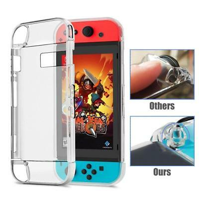 Coque de Nintendo Switch Gogoings Gel Souple en Cristal Transparent Housse