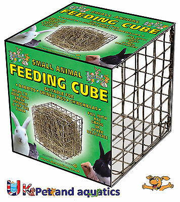 Lazy Bones Feeding Cube For Small Animals Large