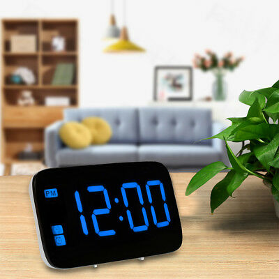 Hot! Large LED Digital Alarm Snooze Clock Voice Control Time Display Led Screen