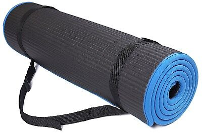 (Black) - BalanceFrom BFGP-10BLK GoFit All-Purpose 10mm Extra Thick High