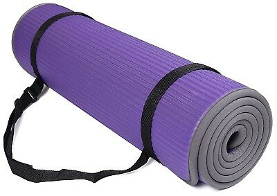 (Purple) - BalanceFrom GoFit All-Purpose 10mm Extra Thick High Density
