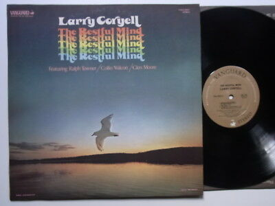 LP: Larry Coryell feat. Ralph Towner Collin Walcott Glen Moore: The Restful Mind