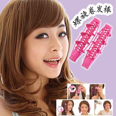 2Pcs Hair Care Curlers Rollers Styling Tools Curlers Curling Hair Accessories