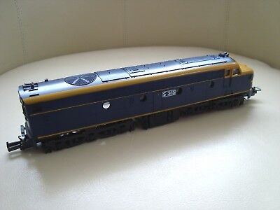 1 x Lima S Class diesel VR Blue Body and Chassis Only for Spare/Repairs VGC