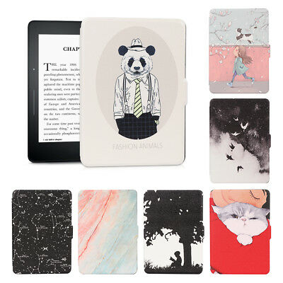 """For 6"""" Kindle Paperwhite 1 2 3 Ultra Slim Leather Smart Case eBook Reader Cover."""