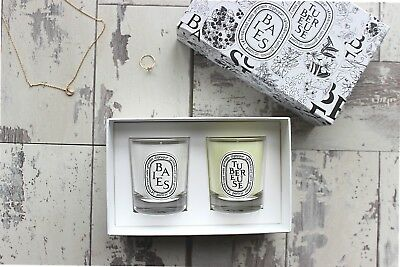 Diptyque candle gift pack - Baies & Tubéreuse 70g each - RRP $96