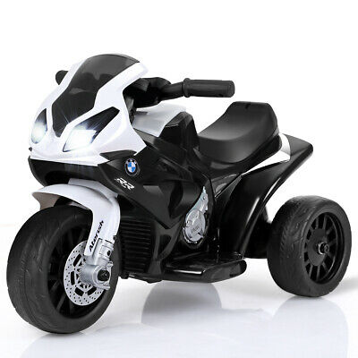 Kids Ride On Motorcycle BMW Licensed 6V Electric 3 Wheels Bicycle w/ Music&Light