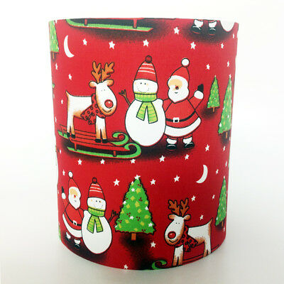 Christmas Themed Fabric Light / Pendant Ceiling Shade