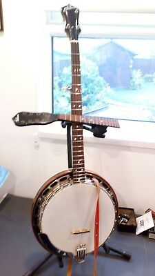 Gibson Banjo 1930s Mb00 converted to 5 string.