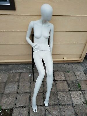 Female Seated Mannequin With Seat