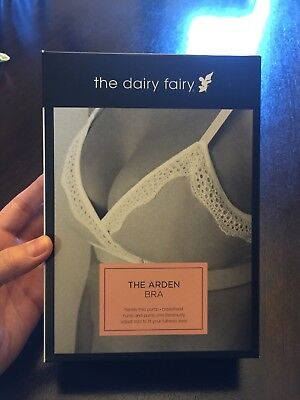 7bfdea69c2 ... All in One Nursing and Handsfree Pumping Bra Sz L.