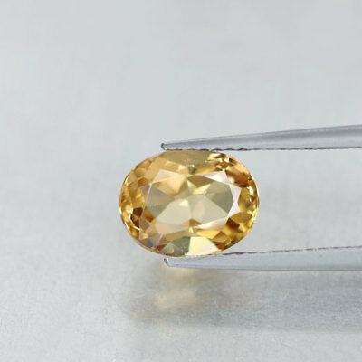 1.88 cts » Golden Yellow » Oval Cut » Natural » Brazil » Beryl » GQ2285