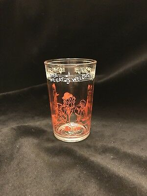 1953 Vintage Howdy Doody Welch's Glass