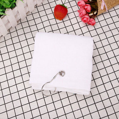 BD49 40x60cm Tri-Fold Cotton Comfortable Golf Towel With Hook Hiking Camping