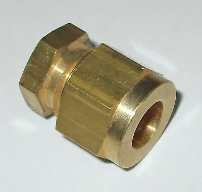 Stop end for tube, with copper olives, LPG, Gas, Hydraulics - choose size 11905x