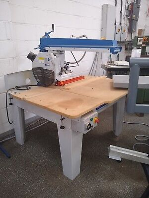 Used Axminster 400mm Radial Arm Saw (3 phase)
