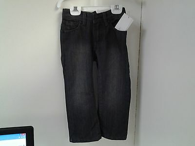 Calvin Klein Jeans Rebel Slim Fit Straight Leg Size 2T Gray Adjust Elastic Tabs