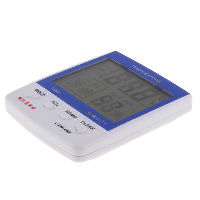 Mini Digital LCD Indoor Temperature Humidity Tester Thermometer Hygrometer