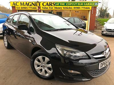 2015 65 Vauxhall Astra 1.6i VVT 16v 115ps Sport Tourer Design Estate