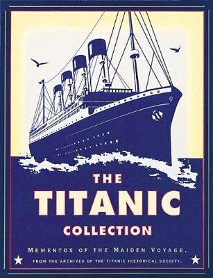 TITANIC COLLECTION: MEMENTOS OF MAIDEN VOYAGE By Hugh Brewster *Mint Condition*