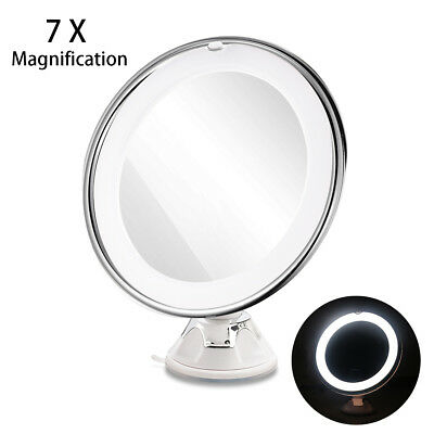 Makeup Mirror RUIMIO Adjustable 7x Magnification with Strong Suction Cup