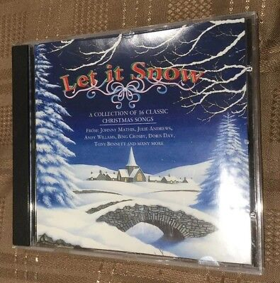 LET IT SNOW- Collection Of Classic Christmas Songs- CD By Well Known Artists.
