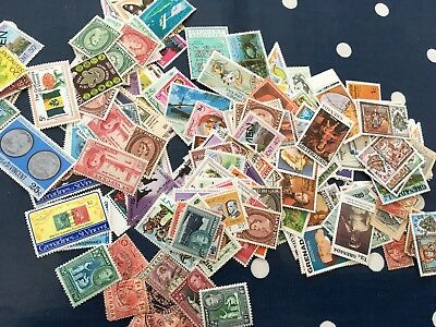 Caribbean  Grenada stamps off paper direct from estate untouched much old