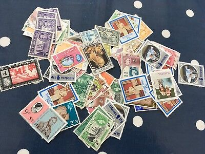 St Helena mint / used stamps off paper direct from estate untouched