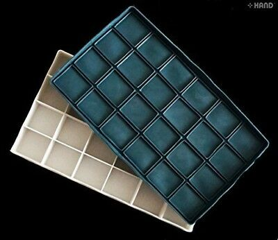 Artists Palette Box with Rubber Lid 24 Wells, Perfect for Oil Colours, Acrylics