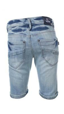 -50% Blue Rebel coole Skater Shorts RABAR 8Y/128~in clear wash~NP 39,99€~Neu