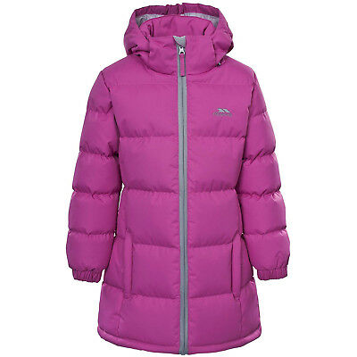 (9-10, Potent Purple) - Trespass Girl's Tiffy Padded Insulated Jacket. Brand New