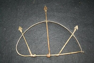 African bronze tool or ornament.
