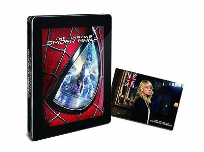 The Amazing Spider-Man 2 Steelbook Japan limited Blu-ray / post card VERY RARE!!