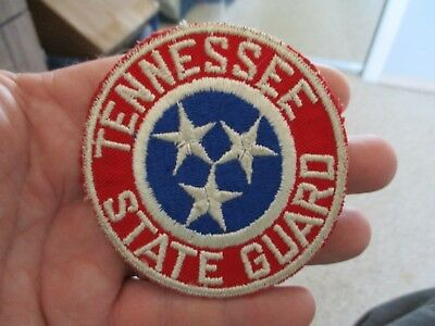 Wwii Or Post War Tennessee State Guard Patch Insignia Ssi