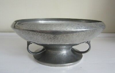 Tudric Pewter Pedestal Bowl Alexander Knox for Liberty of London, Arts & Crafts