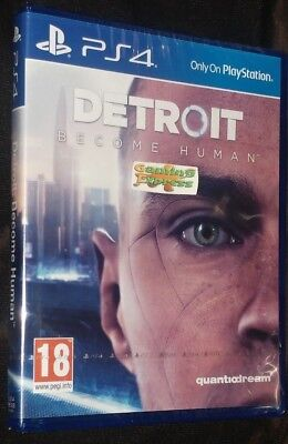 Detroit Become Human Playstation 4 PS4 NEW SEALED Free UK p&p UK Seller & Stock