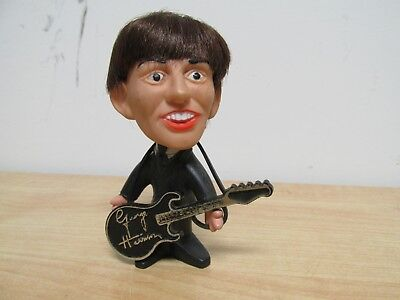 1964 Remco NEMS George Harrison Figure Doll Beatles with Guitar